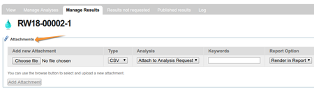 Upload Attacments on Analysis Requests in Bika and Senaite Open Source LIMS